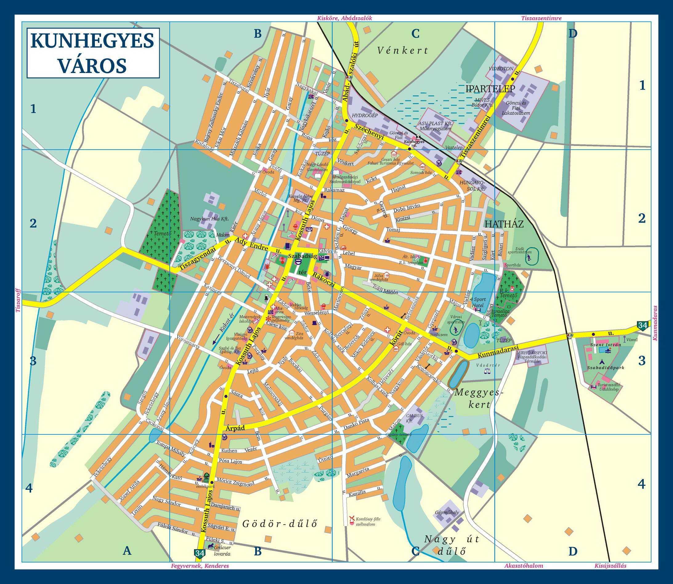 kunhegyes térkép Kunhegyes Város Honlapja   Content kunhegyes térkép